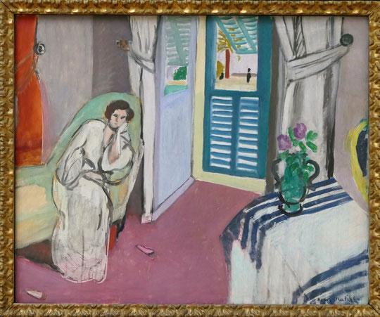 H. Matisse : femme au divan, 1920-21