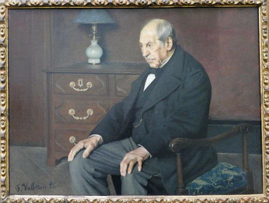 F. Vallotton : Monsieur Ursenbach, 1885