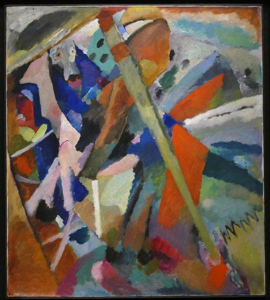 Vassily Kandinsky ( 1866-1944) : Saint Georges II