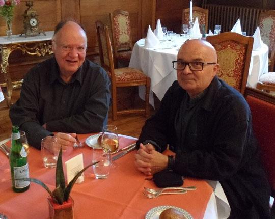 Avec Michel Harrburger à Metz en 2013