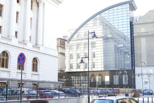 les banques disposent de bâtiments restaurés ou modernes