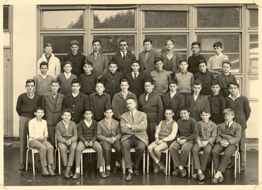 1961-1962, classe de 4e