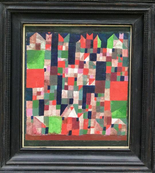 Paul Klee : images d'une ville, 1921