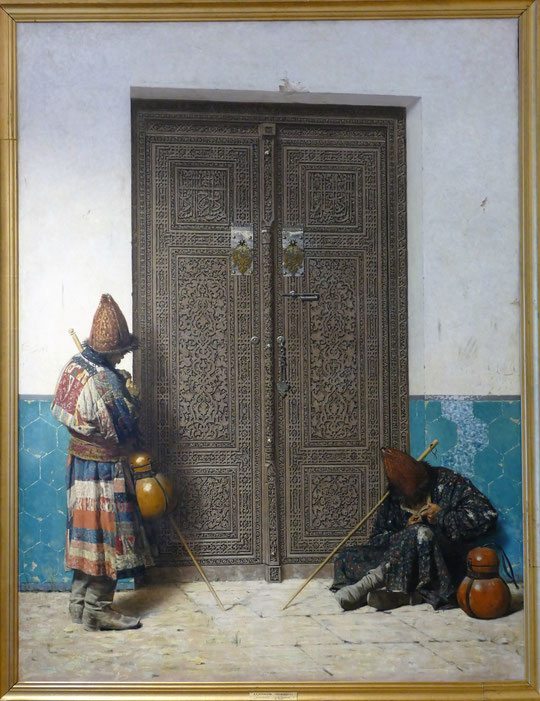 Vasily Vereschagin (1842-1904) : à la porte de la mosquée
