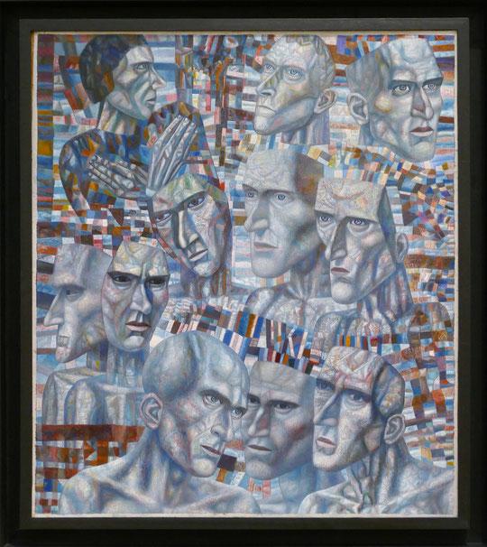 Pavel Filonov (1883-1941) : travailleurs de choc