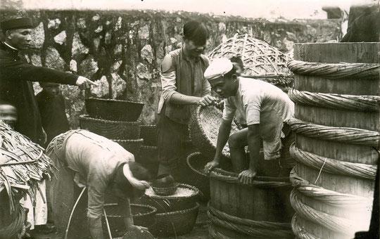 Un atelier de fabrication de pâte de crevettes (Ha Tinh)