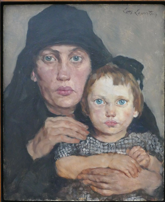 Lotte Laserstein : mère et enfant, 1926