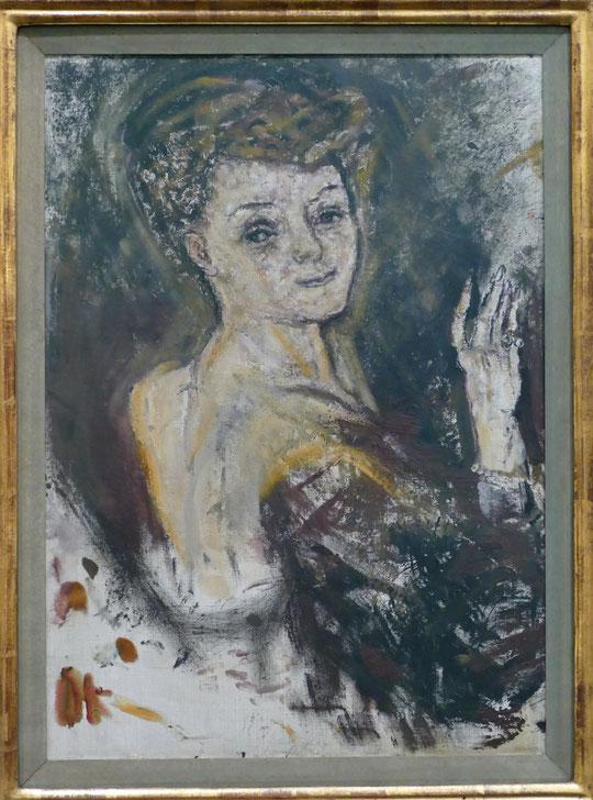 O. Kokoschka : portrait d'Hélène Kann, 1909