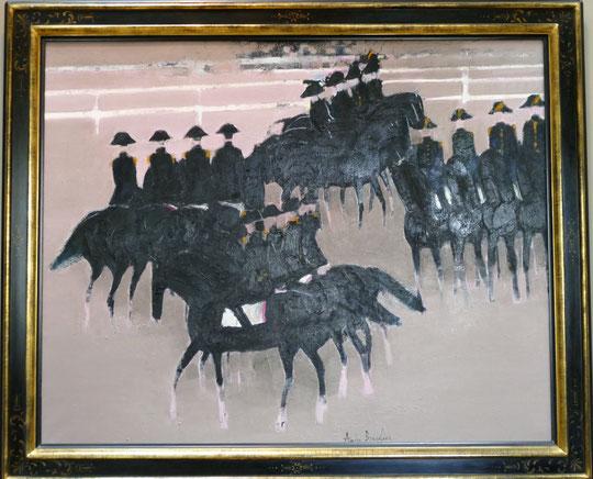 André Brasilier : le Cadre noir à Saumur (1964)