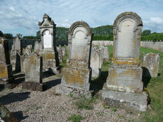 Le cimetière juif de Grussenheim