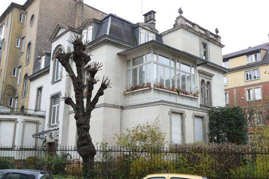 La villa d'Arthur Heimendinger, état actuel