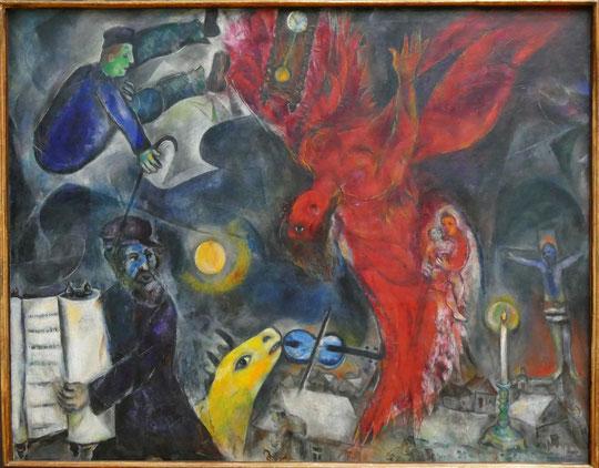 M. Chagall : la chute de l'ange, 1923-1933-1947