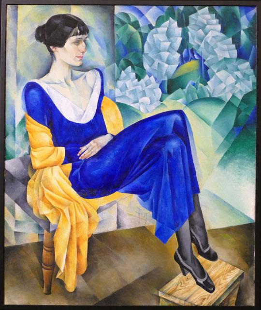 Nathan Altman (1889-1970) : portrait d'Anna Akhmatova (1914)