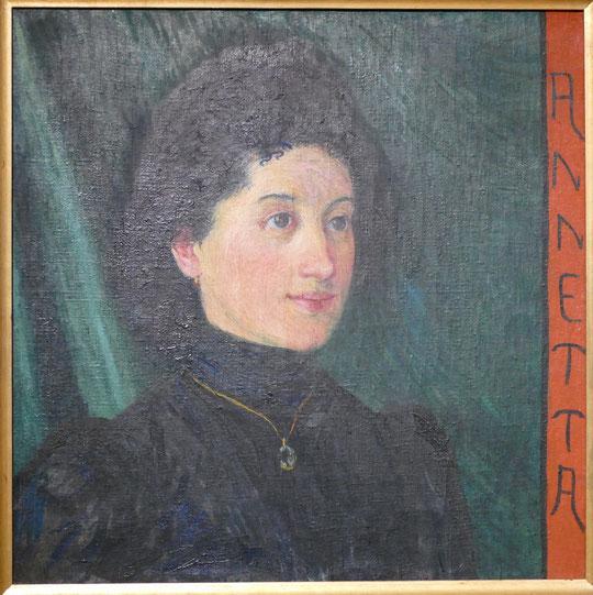Giovanni Giacometti : Annetta, 1900