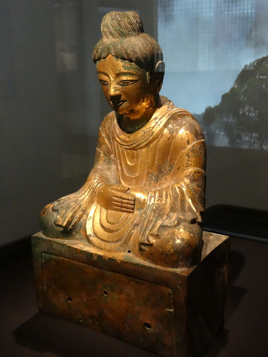 Bouddha (Chine, 338 de notre ère)