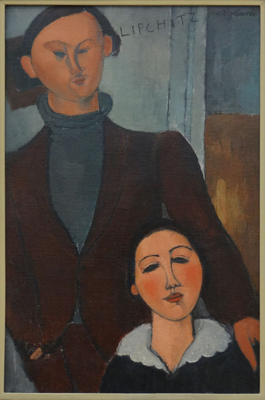 Amedeo Modigliani : Jacques et Berthe Lipchitz