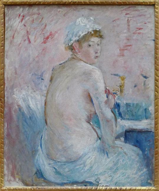 Berthe Morisot : nu de dos, 1885