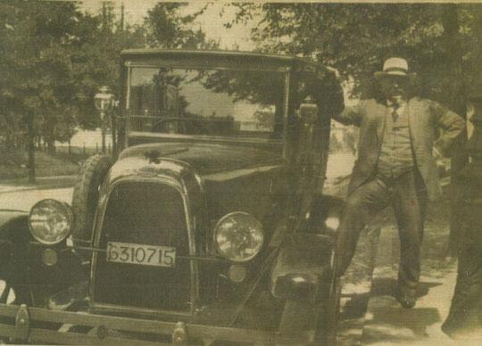 Raphaël Heimendinger en 1924