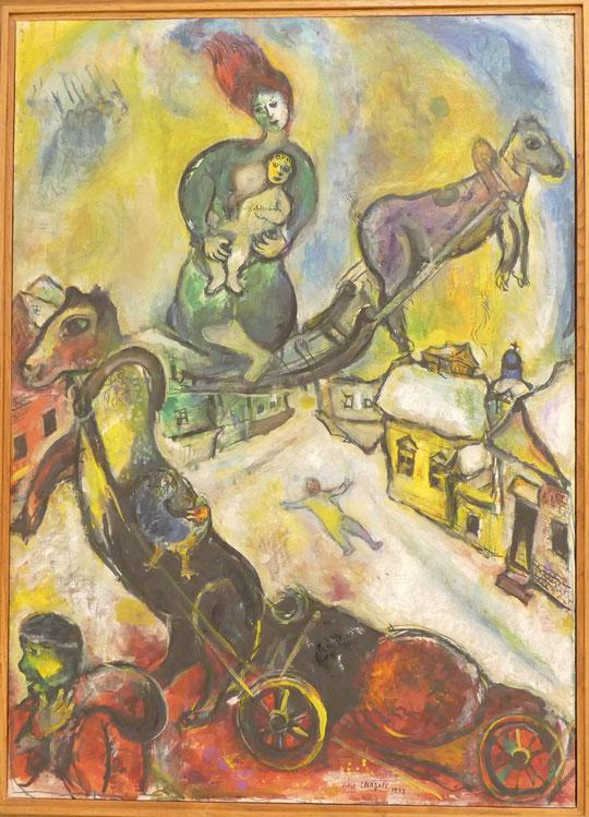 Marc Chagall : la guerre