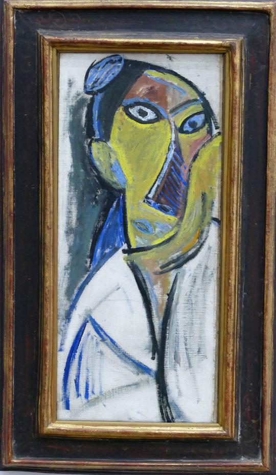 """P. Picasso : étude pour """"les demoiselles d'Avignon"""""""