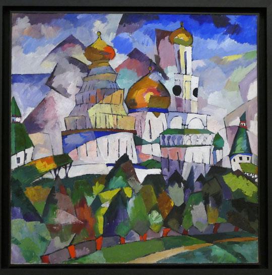 Aristarkh Lentulov (1882-1943) : Nouvelle Jerusalem