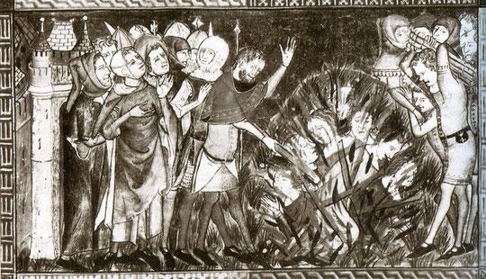 Pogrome de la peste vers 1350