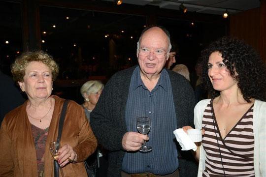 Avec Michèle Kahn et Mélinée Karapetian en octobre 2013