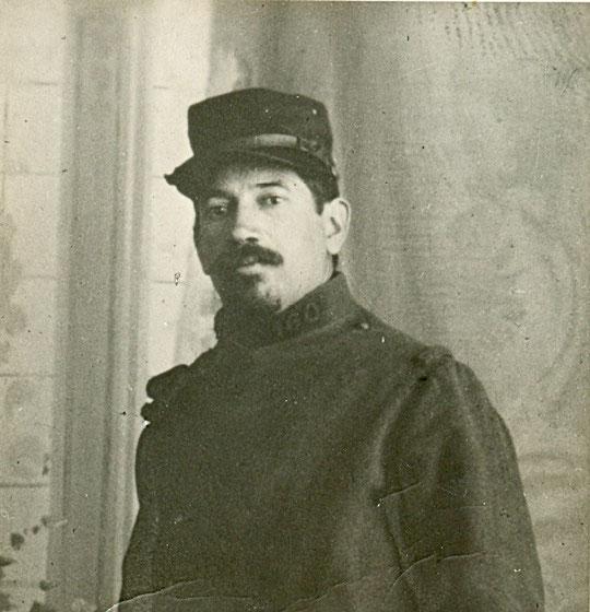 Moïse en 1914 en uniforme du 160e RI