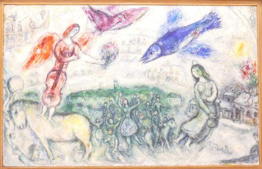 Marc Chagall : les gens du voyage