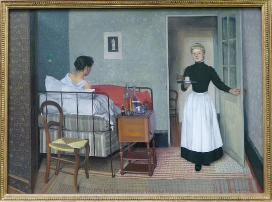 F. Vallotton : la malade, 1892
