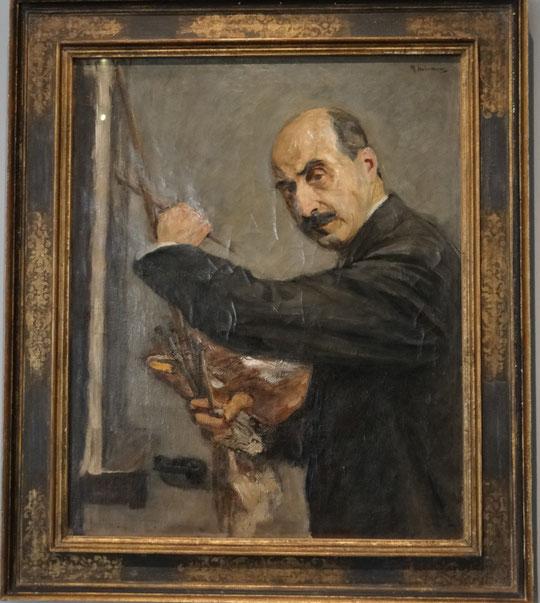 Max Liebermann, autoportrait