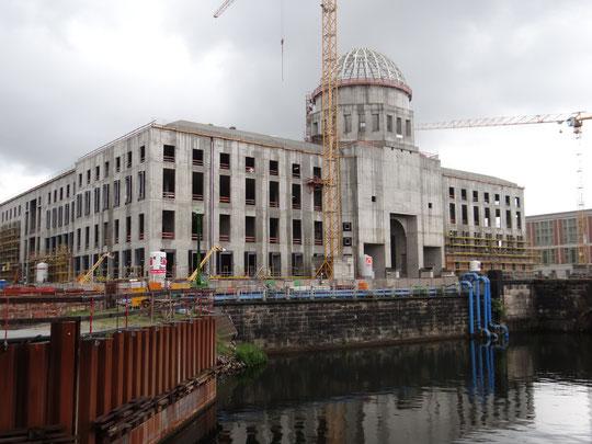Le Forum Humboldt en construction