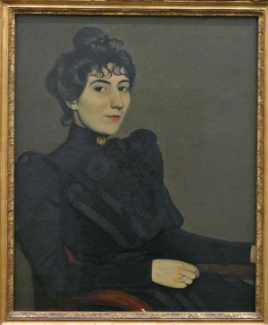 F. Vallotton : Marthe Mellot, 1892