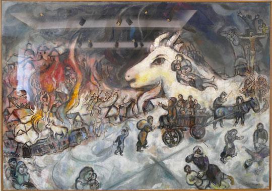 M. Chagall : la guerre 1964-66