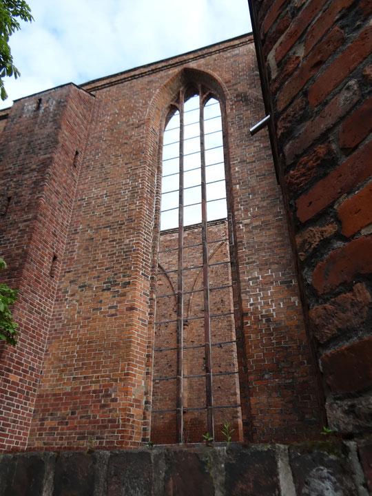 Ruine der Franziskaner Klosterkirche