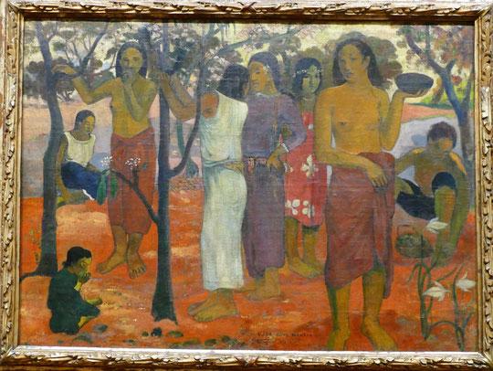 Paul Gauguin : Nave nave Mahana, 1896