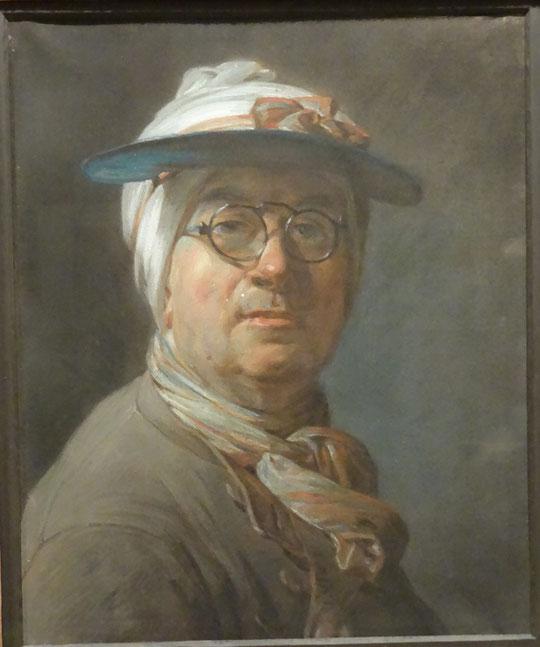Jean Siméon Chardin : auto-portrait