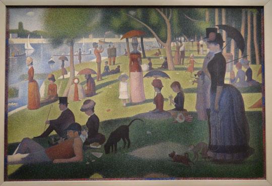 Georges Seurat : un dimanche après-midi à la Grande Jatte
