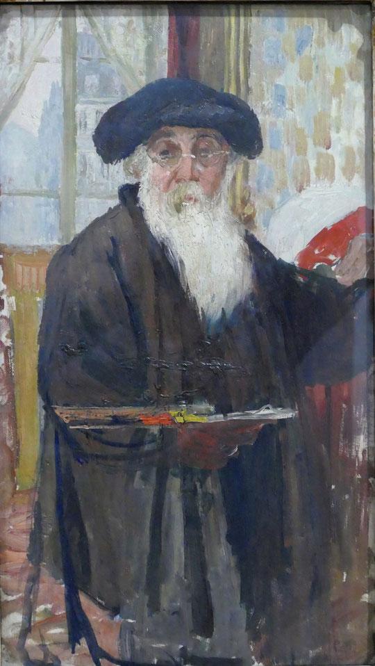 Camille Pissarro : autoportrait, 1896