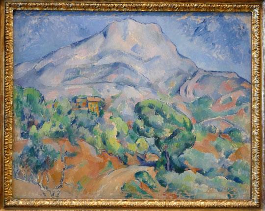 Paul Cézanne (1839-1906) : la montagne Sainte-Victoire