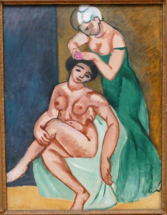 H. Matisse : la coiffure, 1907