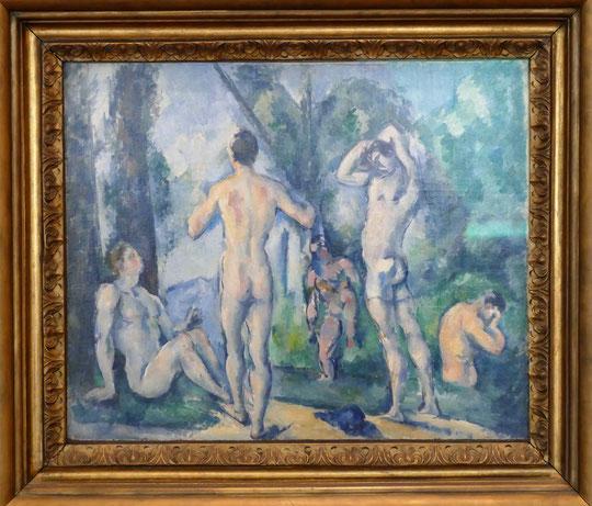 Paul Cézanne (1839-1906) : baigneurs