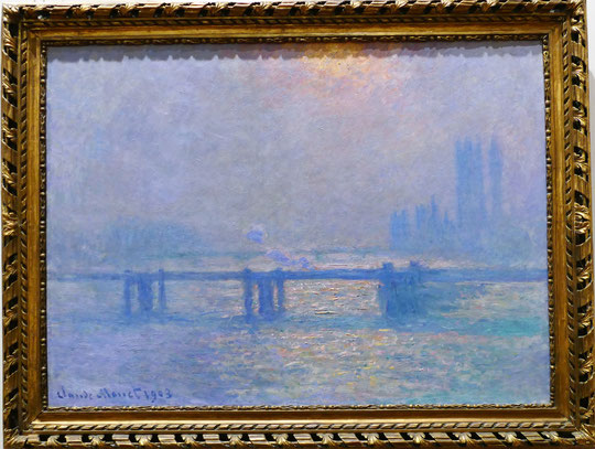 Claude Monet : la Tamise à Charing Cross, 1903