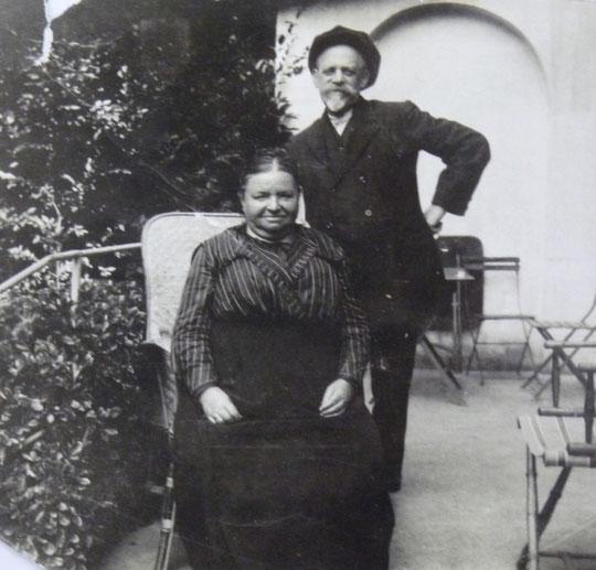 Adolphe (Mutzig) et Mathilde (Marckolsheim)