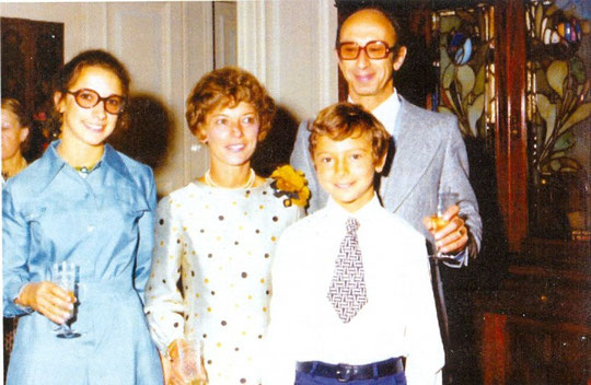 Roger, Geneviève et leurs enfants