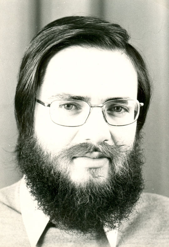 1973, photo pour les affiches électorales