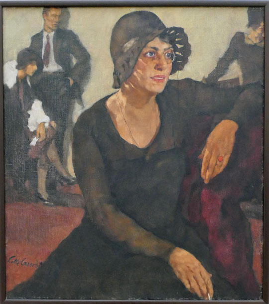 Lotte Laserstein : Polly Tierck, 1929