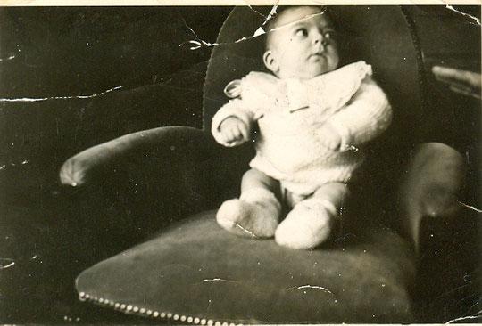 Arlette le 1er février 1940