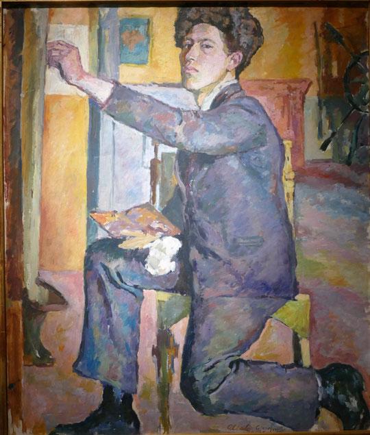 Alberto Giacometti : auto-portrait, 1921