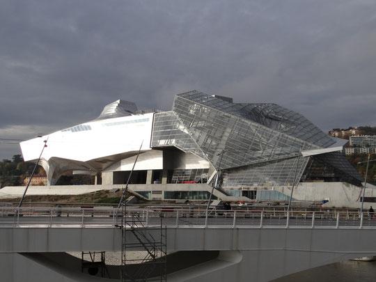 le chantier du musée en novembre 2014